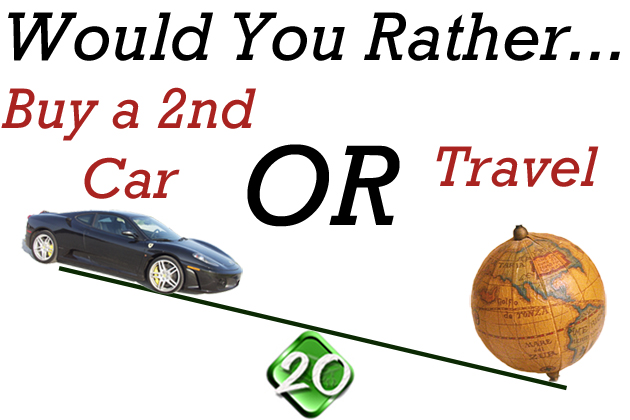Buy a Car or Travel?
