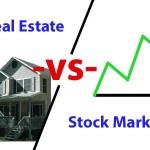 Investing in Real Estate vs. Stock Market