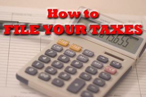 file your taxes for the first time